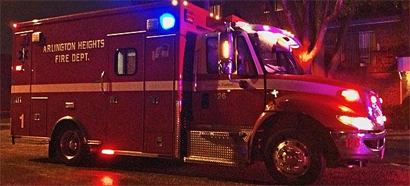 AHFD Ambulance 1