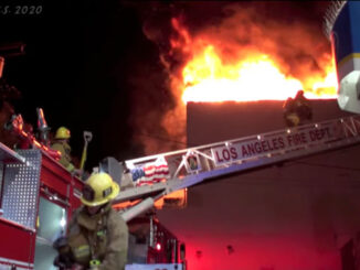 LAFD KoreaTown Fire May 15, 2020