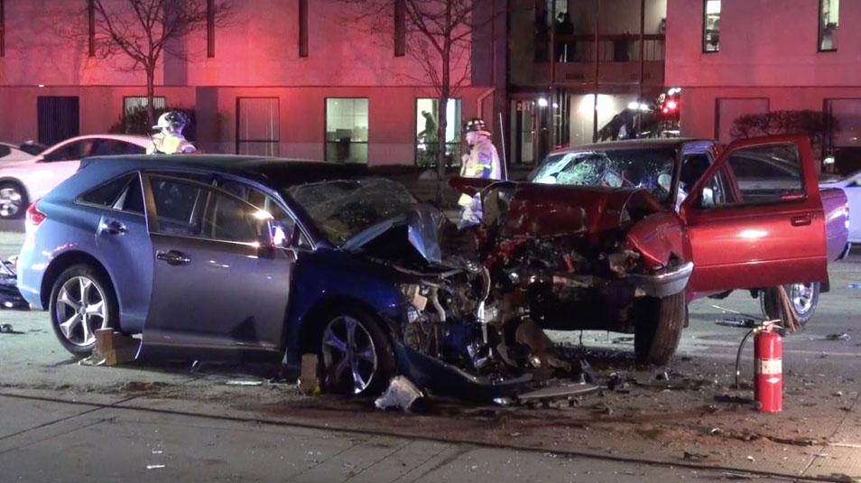Milwaukee Ave Crash BG